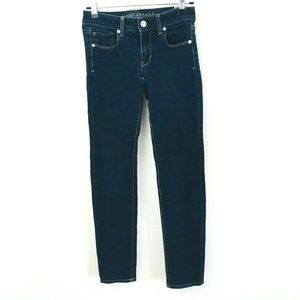 American Eagle Dark Wash Skinny Jeans 2